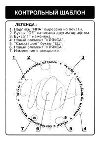 Контрольный шаблон для печати
