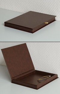 Подарочная коробка-книжка